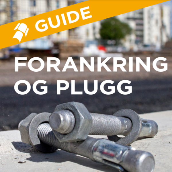 Guide Forankring og plugg